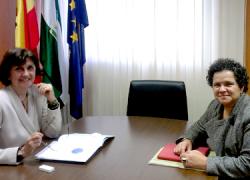 El Instituto Andaluz de la Mujer y el Consejo Audiovisual de Andalucía acuerdan la firma de un convenio en defensa de la imagen de la mujer en los medios de comunicación