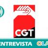 """Miguel Sevillano (CGT Sevilla): """"El contrato para jóvenes es un chantaje con el que los empresarios quieren ganar más dinero"""""""