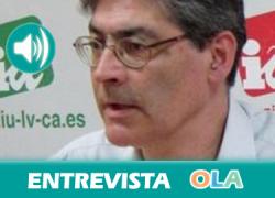 «En Andalucía tenemos un gobierno de izquierdas diseñado para la resistencia». José Luis Pérez Tapias (IU-CA)
