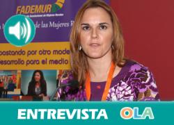 «Los más jóvenes están adoptando roles machistas propios de otra época». Montserrat Moyano (FADEMUR)