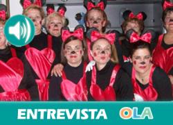 «Estamos volviendo al carnaval de siempre donde se cantan coplillas a nuestro municipio y nuestros vecinos». Maika Gómez (Ayto. Huétor Tájar)