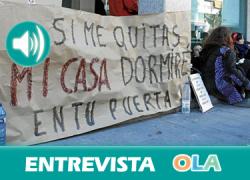 «Estamos haciendo todo lo posible por conseguir una Andalucía libre de desahucios». Amanda Meyer (Consejería Fomento y Vivienda)