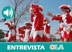«Nuestro carnaval se vive más en la calle con los vecinos y las agrupaciones de chirigotas, murgas y comparsas». Natividad Fernández (Ayto. Guillena)