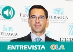 «Hay una escasa participación de los usuarios en la gestión de las cuencas del litoral andaluz, que son de competencia autonómica». Pedro Parias (FERAGUA)