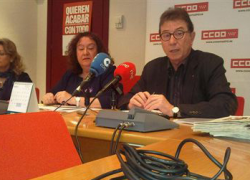 El 58% de las mujeres paradas en Andalucía no reciben ningún tipo de prestación por desempleo según un estudio presentado por CCOO
