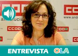 «Los jóvenes andaluces tienen que rebelarse ante un panorama laboral cada vez más oscuro guiado por la senda de la precaridad». Nuria López (CCOO-A)