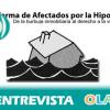 «Pedimos la reestructuración de la deuda con las entidades bancarias para las personas afectadas por impagos de hipotecas». Toñi Espino (PAH)