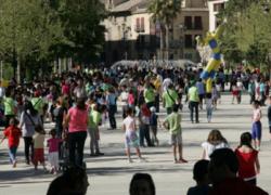 La IV 'Jornada de Juegos Tradicionales y Saludables' recupera el hábito de jugar en la calle en la localidad jiennense de Alcalá la Real