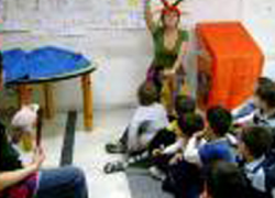 Los niños de infantil de los colegios de San Juan de Aznalfarache van a ser los grandes protagonistas de las actividades programadas en la Semana del Libro