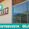 «Nuestro aceite tiene un dulzor especial que lo hace único en Andalucía debido a la variedad de la aceituna lechín». Ada Padial (Museo Aceite Vélez de Benaudalla, Granada)