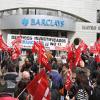 La plantilla de Barclays de toda Andalucía convoca una jornada de huelga para este viernes contra el ERE que afecta a 130 trabajadores