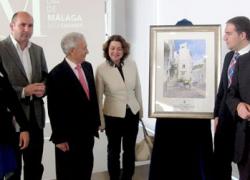 La Diputación de Málaga celebra el Día de Provincia en la localidad de Casares como homenaje a la figura de Blas Infante