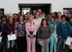 65 mujeres de la localidad jiennense de Alcalá la Real se forman gracias a un convenio con el Ministerio de Sanidad