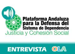 «La atención a la dependencia es sostenible y necesaria porque genera riqueza, trabajo, justicia y cohesión social». José Miguel Delgado (Plat. And. Defensa Dependencia)