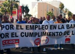 Los sindicatos CCOO y UGT inician hoy la marcha a pie durante tres días por Andalucía en defensa del empleo