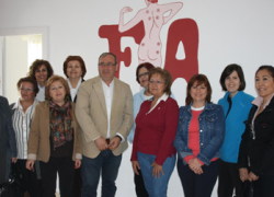 La Asociación Fibroaljarafe inaugura su nueva sede en la localidad sevillana de San Juan de Aznalfarache