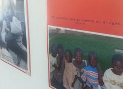 La Diputación de Cádiz ha puesto en marcha en Chipiona una exposición fotográfica que realiza una mirada solidaria hacia los países de África