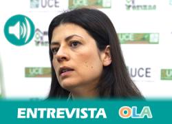 «Si tenemos la hipoteca con BBVA o Cajamar hay que acudir a la entidad para confirmar que no nos están aplicando la cláusula suelo». María Coronada Vázquez, responsable de comunicación de la Unión de Consumidores de Andalucía (UCA)