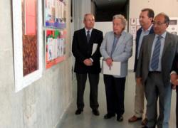 Una exposición conmemora en la localidad onubense de Punta Umbría el centenario del nacimiento de José Caballero a través de sus ilustraciones en la revista 'Rábida'
