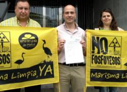 La asociación Mesa de la Ría denuncia a Fertiberia por el vertido de fosfoyesos en el río Tinto que fue declarado como irregular por el Tribunal Supremo en febrero de 2011