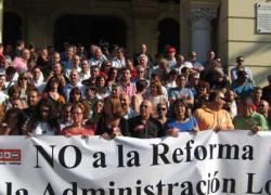 CCOO-Andalucía muestra su rechazo a la reforma de la administración local al considerar que responde al fomento por parte del Gobierno de la iniciativa privada
