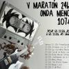 La emisora municipal de Doña Mencía, 'Onda Mencía Radio', comienza a las 13:30 su ya tradicional maratón de 24 horas de radio