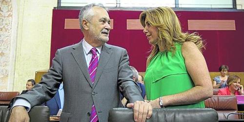 José Antonio Griñán dejará la Presidencia de la Junta de Andalucía en septiembre por motivos personales y desmiente que sea por razones relacionadas con los ERE