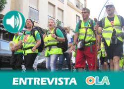 «Intentamos que cambie la situación ante la aberración por la que están echando a las familias a la calle y dejándonlas con una deuda de por vida» Richard López, uno de los organizadores de la marcha Bruselas