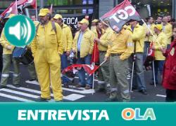 «Comenzaremos los escraches a políticos y encierros tanto en la Consejería de Agricultura, Pesca y Medio Ambiente como en el Parlamento andaluz» David Pérez, portavoz trabajadores INFOCA en huelga de hambre