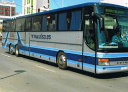 El sindicato CGT convoca varias jornadas de paro en la empresa de transportes ALSA por los retrasos reiterados en el abono de los salarios y el incumplimiento en jornadas y descansos