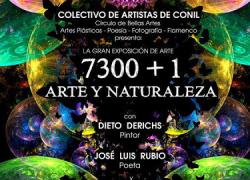 La localidad gaditana de Conil de la Frontera exhibe durante todo el mes de agosto la Exposición 7300+1 (Arte y Naturaleza)