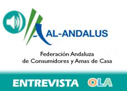 «Hemos ampliado nuestras actuaciones a través de la página web para asesorar a los consumidores». Rocío de la Villa, responsable de comunicación Federación de Consumidores y Amas de Casa Al-Andalus