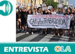 «La pérdida del metal y los astilleros en Cádiz está llevando a la población a la miseria y a la pobreza». Isidro Jiménez, integrante de la Plataforma de Parados del Metal de Cádiz.