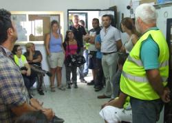 23 personas comienzan a trabajar en la localidad gaditana de Conil de la Frontera gracias al programa de ayuda a la contratación del decreto contra la exclusión social