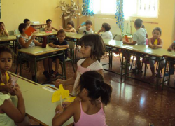 Los niños y niñas del municipio sevillano de Castilblanco de los Arroyos se despiden de la Escuela de Verano para retomar la actividad habitual con el comienzo del curso escolar