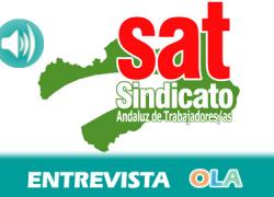 «Si no se toman medidas, muchos niños de Andalucía van a estar excluidos de las clases». Mari Garcia, integrante SAT