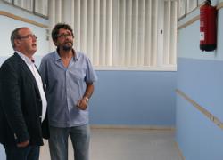 Los trabajos de mantenimiento en los centros educativos del municipio sevillano de San Juan de Aznalfarache van tocando a su fin