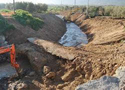 Nueve intervenciones de emergencia para acondicionar y mejorar caminos rurales de la localidad malagueña de Antequera tras los daños ocasionados por las lluvias
