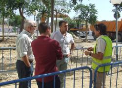 El Programa de Fomento de Empleo Agrario 2013 de la localidad gaditana de Conil de la Frontera posibilita mejoras en la barriada de El Pozuelo