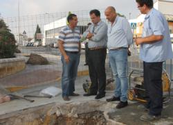 El Ayuntamiento del municipio onubense de San Juan del Puerto lleva a cabo una serie de obras municipales para evitar el problema de las inundaciones