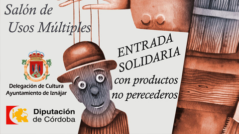 La localidad cordobesa de Iznájar inaugura su programación cultural de otoño con una obra teatral solidaria para recaudar alimentos no perecederos