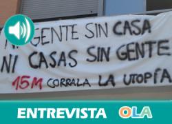 «La lucha por la vivienda debe seguir adelante ante la falta de voluntad política de las administraciones», Juanjo García, portavoz Intercomisión Vivienda 15M Sevilla