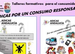 ADICAE organiza una serie de talleres formativos para los vecinos y vecinas del municipio cordobés de Castro del Río en favor de un consumo responsable