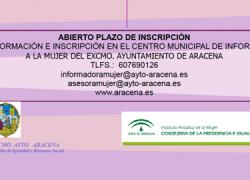 El Centro de Información de la Mujer de la localidad onubense de Aracena abre su oferta de talleres lúdico-formativos