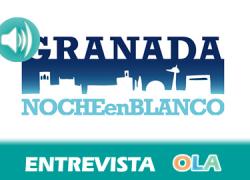 «Esta primera edición de la Noche en Blanco es una reivindicación más hacia la candidatura de Granada como Capital Mundial de la Poesía», María José Mesa, responsable de comunicación de la Noche en Blanco