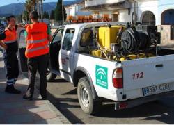 Protección Civil y Policía Local logran extinguir un incencio sin daños personales en el municipio gaditano de Los Barrios
