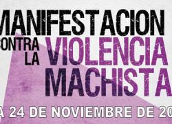 El municipio cordobés de Fuente Obejuna muestra su apoyo en la lucha contra la violencia machista con una manifestación en la víspera del Dia Internacional contra la Violencia de Género