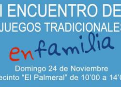 El Día Internacional de la Infancia se celebra este fin de semana en el municipio almeriense de Vera con el I Encuentro de Juegos Tradicionales en Familia