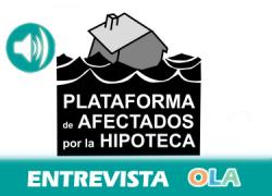 «La supresión de incentivos fiscales a la compra de la vivienda habitual es un nuevo golpe para las familias», Sara Vázquez, portavoz de la Plataforma de Afectados por la Hipoteca
