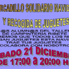 El municipio sevillano de El Ronquillo organiza un mercadillo solidario y una recogida de juguetes para los más necesitados